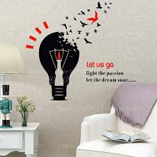 Aliexpress Com Corporate Let The Dream Soar Wall Stickers Company