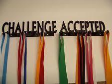 Challenge Accepted Medal Displayrack Holderrace 262 10K Run