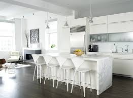 Snow White Decor 56 Trendy Bar Stools And Kitchen That Complete Your Modern