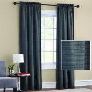 mainstays room darkening print window panel pair walmart com