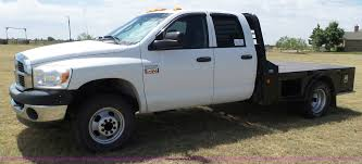 2009 Dodge Ram 2500 Quad Cab Flatbed Pickup Truck | Item L65...