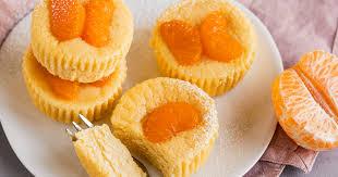 käsekuchen muffins mit mandarinen schnelles rezept ohne boden