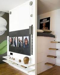 Low loft bed with closet underneath Diy Step Stairs