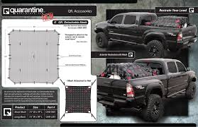 Accessory Pack For Your Cargo Nets | Quarantine Restraints Accessory Pack For Your Cargo Nets Quarantine Restraints Best 25 Truck Bed Accsories Ideas On Pinterest Toyota Truck 19972017 F150 Covercraft Pro Runner Tailgate Net Excluding Pickup Atamu Amazoncom Highland 9501300 Black Threepocket Storage Heavy Duty Short Bed Sgn100 By 4x6 Super Bungee Keeper 03141 Zipnet Adjustable Camo Haulall Atv Rack System Holds 2 Atvs Discount Ramps 70 X 52 The Best Rhino Lings Milton Protective Sprayon Liners Coatings And