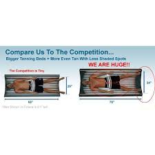 tanning bed wolff solar storm 24s l bed 110 volts made in usa
