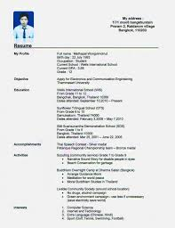16 Year Old Resume Example