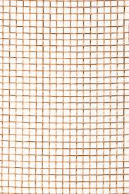 Decorative Sheet Metal Banding by Decorative Mesh 8 Copper Wireform Metals