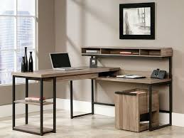 Flooring Materials For Office by Furniture Excellent L Shaped Desk With Hutch For Office Design