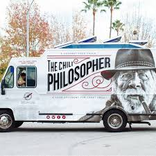 Chili Philosopher - Los Angeles Food Trucks - Roaming Hunger Hungry Belly Los Angeles Food Trucks Roaming Hunger Ph King Asian American Truck Carts And Hot Dog Ice Cream Popcorn Mobi Munch Inc Ice Cream Rental Marketing Dia De Los Puercos A Wine Truck How Cool Is This You Could Run It Around Aunt Emmas Popcorn Food Truck Rentals The Group Border Grill Photo Gallery Of Greenz On Wheelz Menus And