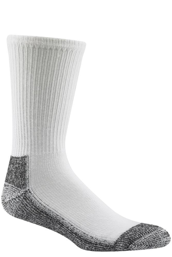 Wigwam At Work Steel Toe Socks - Medium, White