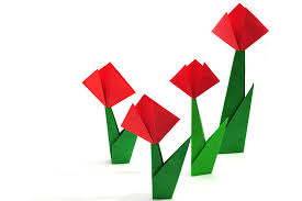 Easy Foldable Tulip Crafts Image