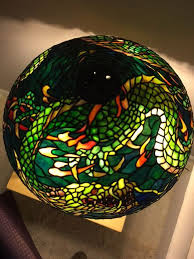 23 best duffner kimberly 1906 dragon lamp stained or leaded or