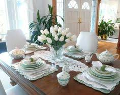 Decoration Dining Table Decor Ideas Spring Home With Fresh Flower Centerpieces Stylish Decorations
