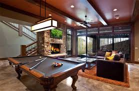 20 Man Cave Finished Basement Designs You ll Totally Envy