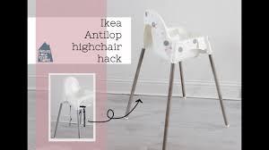 Antilop Highchair Ikea Hack