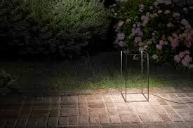 Ipnos Outdoor Floor Lamp Black Anodized by Flos