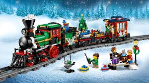 Christmas Train Sets For Under The Tree Made Out Of LEGO