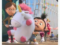 25 Despicable Me Agnes Fluffy Unicorn