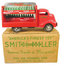 Smith-Miller, Toy Truck, Original, Coca Cola Truck