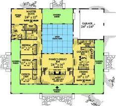 style house plans with interior courtyard center courtyard house plans with 2831 square this is one