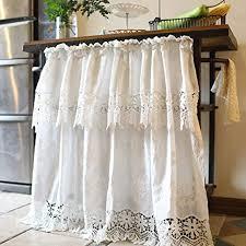 hrxq scheibengardine kurzgardine für kleine fenster vorhänge gardinen schlafzimmerkurze badezimmer fenstervorhang vintage kaffee vorhang küche