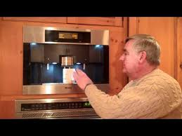 ComBuilt In Coffee Maker And