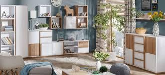 7 teiliges wohnzimmer designer wohnwand set komplett sideboard schrank vitrine