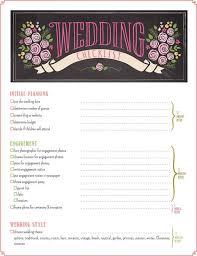 Wedding Checklist Timeline Printable Planner PDF 16 Pages Digital Download ALL NEW For 2015 By