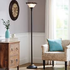 Mainstays Floor Lamp With Reading Light Brown by Mainstays 71