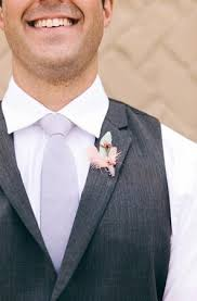 Grey Mint Purple Groom Perfect Look For A Spring Wedding Photo