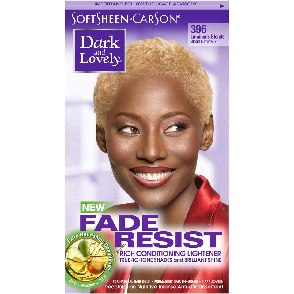 Soft Sheen-Carson Dark And Lovely Fade-Resistant Rich Conditioning Color - 396 Luminous Blonde