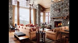 Rustic Living Room Wall Ideas by Rustic Living Room Design Ideas Youtube