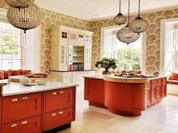 Full Image Kitchen Colors With Off White Cabinets Cream Gradation Granite Base Countertop On The Floor