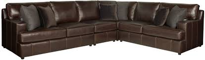 Flexsteel Power Reclining Couch by Sectional Bernhardt