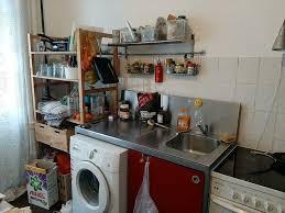 küche mit herd waschmaschine und spülmaschine