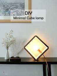 Wooden Cube Lamp DIY