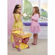 Princess Kitchen Play Set Walmart by Disney Princess Belle Musical Tea Party Cart Walmart Com