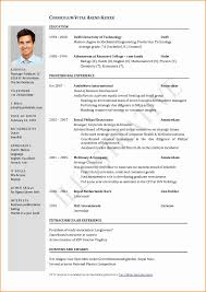 1 Page Resume Format For Freshers Unique E Template Sample Skills Based Free Download
