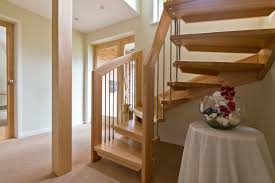 Excellent Two Levels Open Staircase With Wooden Materials And Dark ... Outside Staircases Prefab Stairs Outdoor Home Depot Double Iron Stair Railing Beautiful Httpwwwpotracksmartcomiron Step Up Your Space With Clever Staircase Designs Hgtv Model Interior Design Two Steps For Making Image Result For Stair Columns Stairs Pinterest Wooden Stunning Contemporary Small Porch Ideas Modern Joy Studio Front Compact The First Towards A Happy Tiny Brick Repair Cost Remodel Decor Best Decoration Room Amazing