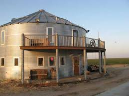 Grain Bin Scale House