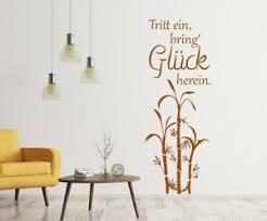 details zu wandtattoo glück wandtatoo wohnzimmer sprüche bambus flur a203