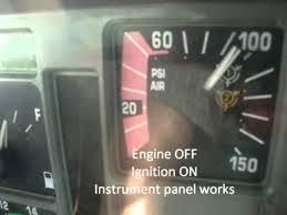 cdl pre trip air brake system live inspection wmv youtube