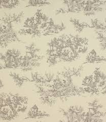 grey toile fabric 1312 1 1 Fabric Pinterest