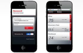 Thermostat app Honeywell 2013 01 14