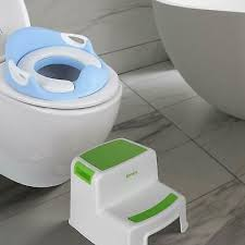 kinder tritt stuhl toilettentraining zwei tritthocker anti