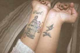 Wrist Tattoo About Faith