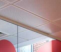 Tegular Ceiling Tile Blocks by Suspended Metal Ceilings Sas System 130