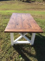 Farmhouse Table Farm And Bench By NorthGeorgiaWoodwork