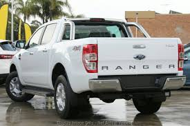 2018 Ford Ranger XLT Double CAB PX Mkii MY18 (Frozen White) For Sale ...