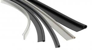 extruded custom silicone rubber profile door gaskets tubing